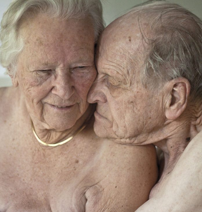 Foto van grootouders van fotograaf Carilijne Pieters