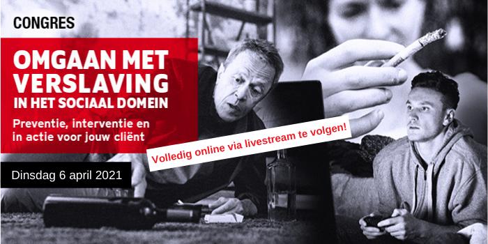 Online congres Omgaan met verslaving in het sociaal domein