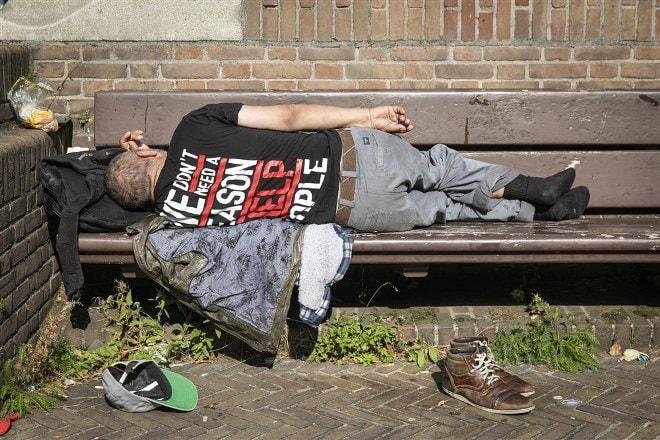 Door de coronacrisis neemt het aantal meldingen van overlast door mensen met verward gedrag en dak- en thuislozen toe