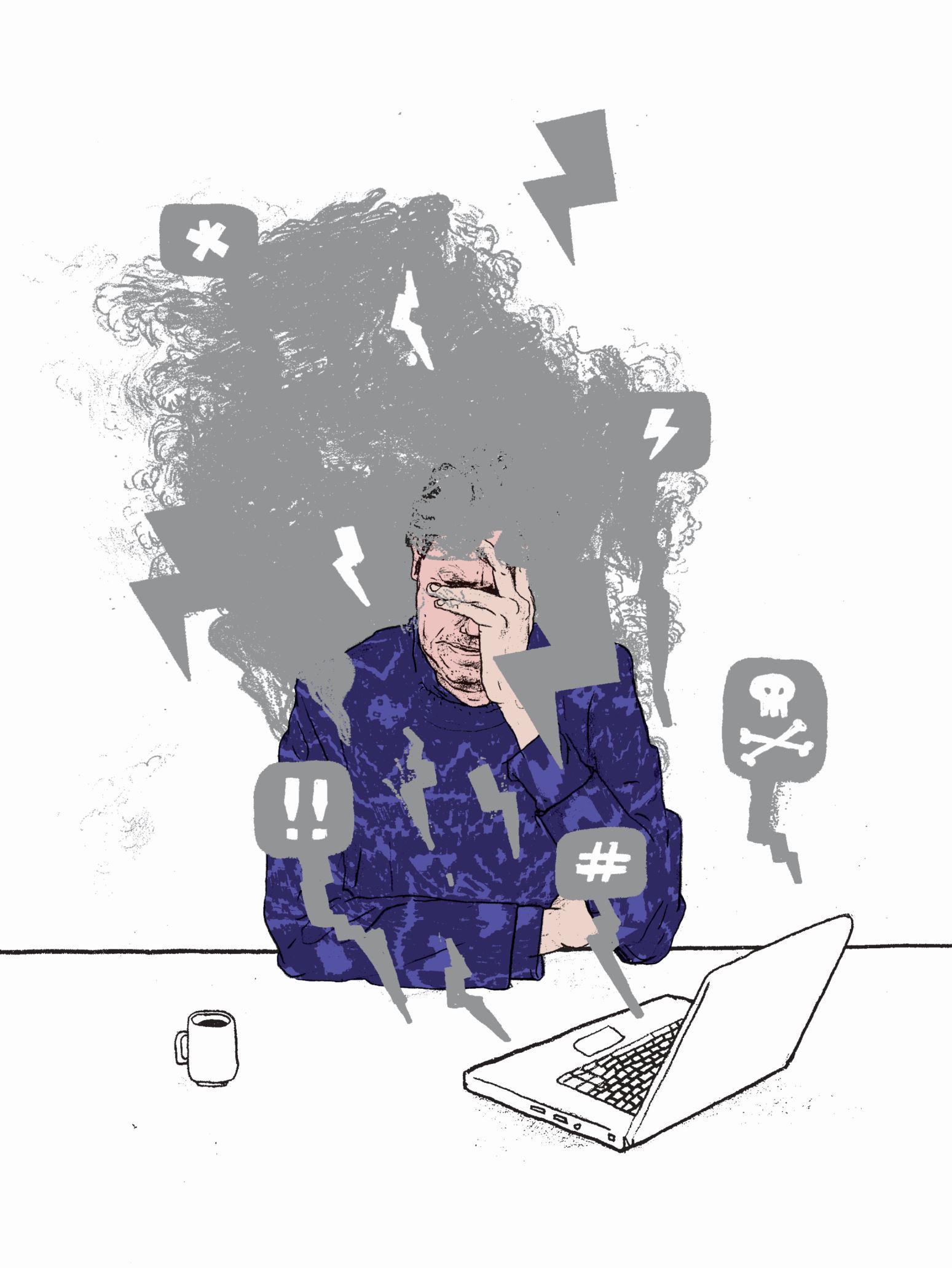 Terrorcliënt emails. Door Gijs Kast