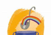 Soep illustratie door Jenny Lindhout