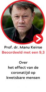 Manu Keirse   spreker jaarcongres eenzaamheid