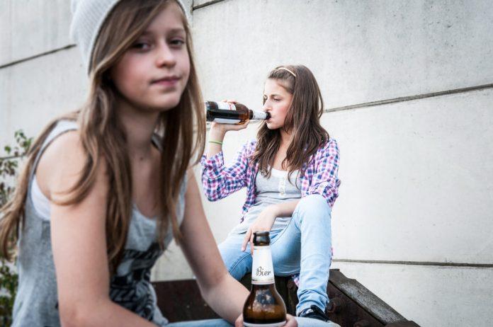 Kinderen aan de drank