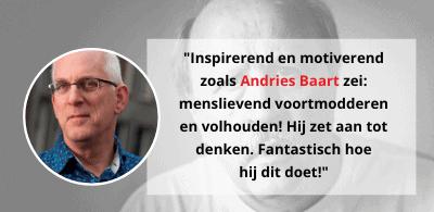 Quote Andries Baart