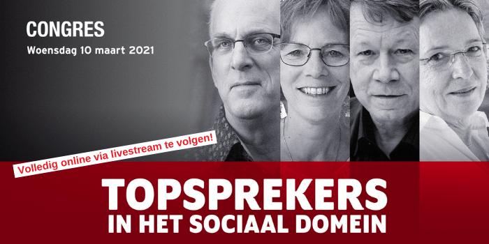 Congres Topsprekers in het sociaal domein | Online congres