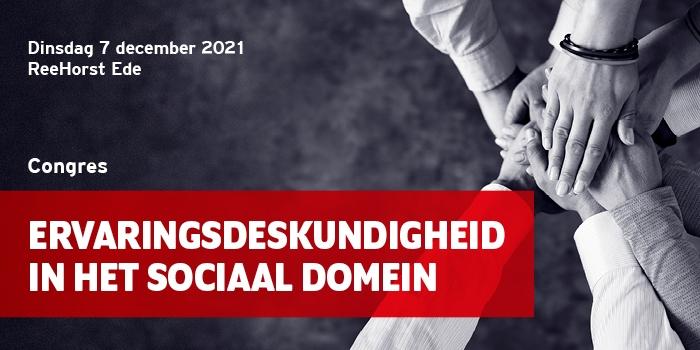 Congres Ervaringsdeskundigheid in het sociaal domein